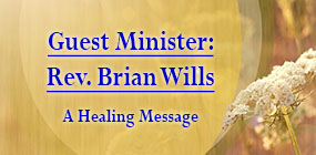 Guest Minister Rev Brian Wills